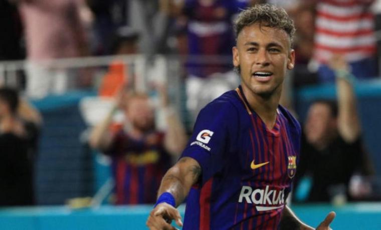 Neymar. (Dok: Okezone)