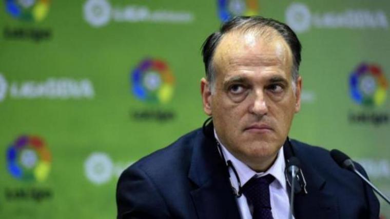 Presiden La Liga, Javier Tebas. (Dok: Bola)