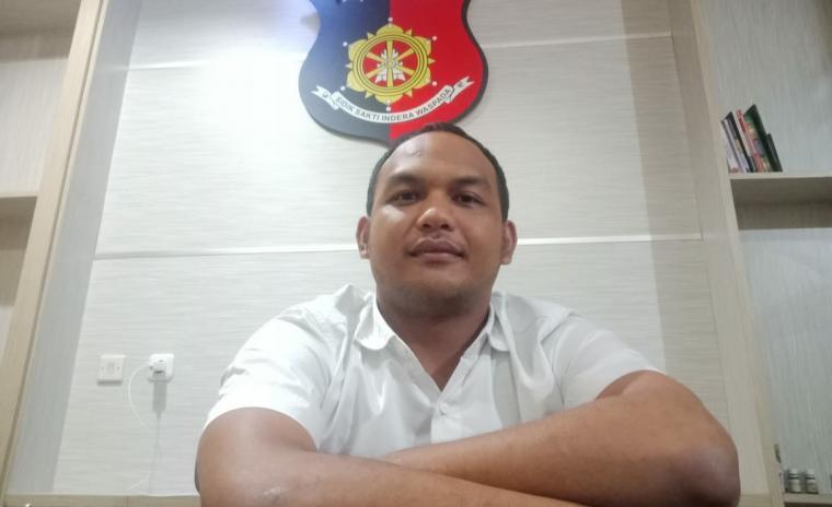 Kasat Reskrim Polres Cilegon, AKP Dadi Perdana Putra. (Foto: TitikNOL)