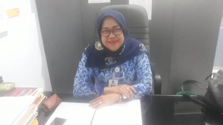Kabid Perlindungan Perempuan dan Anak DP3AKB Kabupaten Serang Iin Adillah mengatakan. (Foto: TitikNOL)