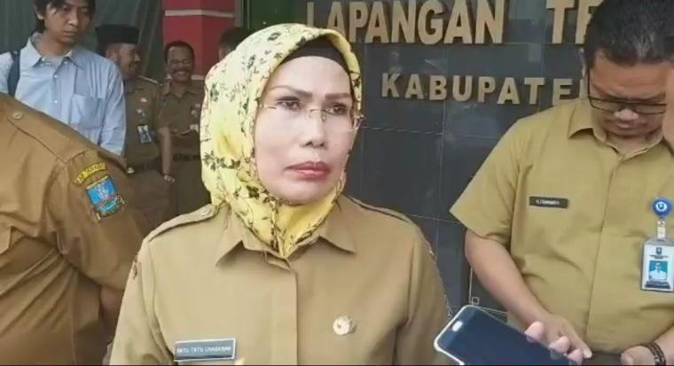 Bupati Serang, Ratu Tatu Chasanah. (Foto: TitikNOL)