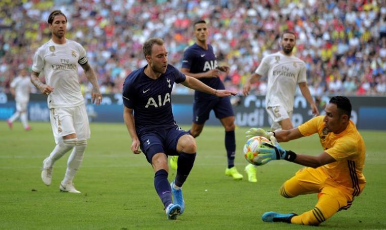 Real Madrid vs Tottenham Hotspur. (Dok: Goal)