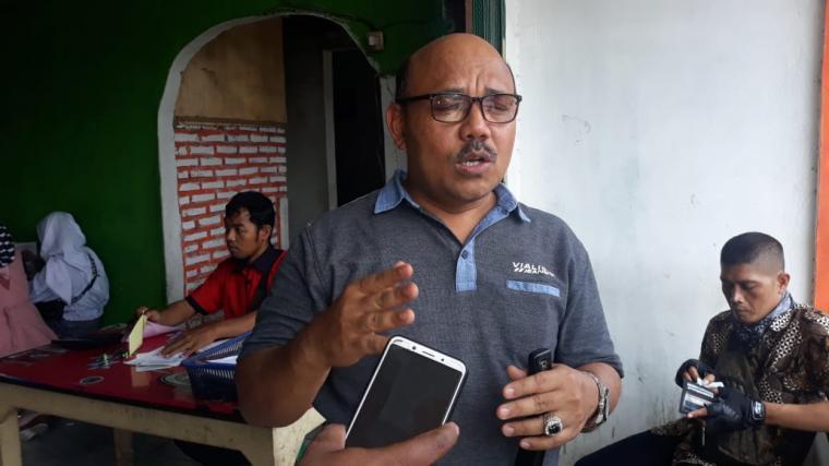 Kepala Dinkes Kota Serang, Ikbal. (Foto: TitikNOL)