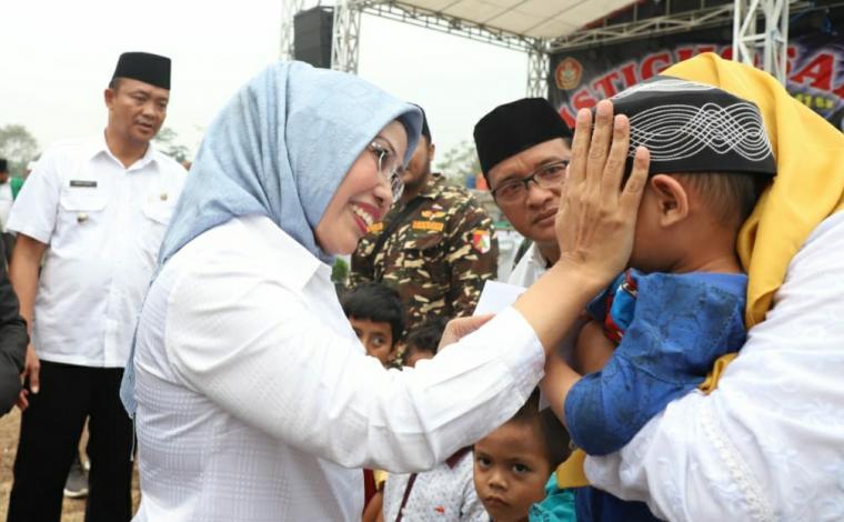 Bupati Serang Ratu Tatu Chasanah. (Foto: TitikNOL)