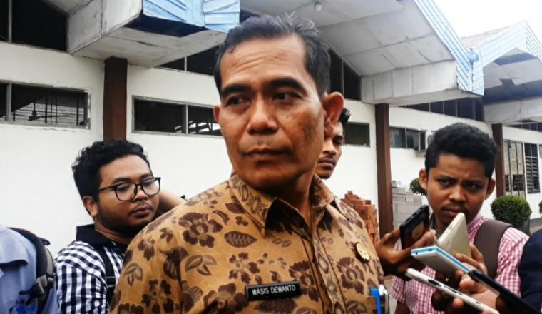 Kata Kepala Dindik Kota Serang Wasis Dewanto, saat ditemui di Aula SMKN 2 Kota Serang. (Foto: TitikNOL)