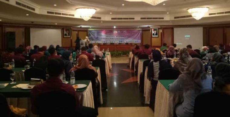 Suasana Jambore Kebangsaan dan Kebudayaan di Hotel Le Dian, Kota Serang, Jumat (23/8/2019). (Foto: TitikNOL)