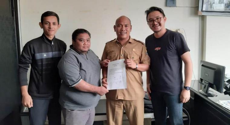 musyawarah Asosiasi Kota (Askot) PSSI Serang bersama Asosiasi Futsal Kota (AFK) Serang. (Foto: TitikNOL)
