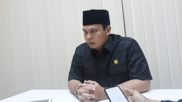 Ketua DPRD Kota Serang, Budi Rustandi. (Foto: TitikNOL)
