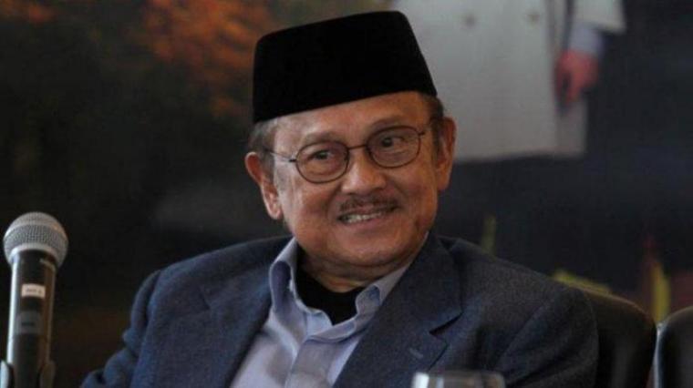 Presiden ke-3 RI Bacharuddin Jusuf Habibie. (Dok: Tribunnews)