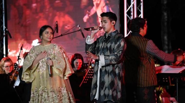Gita Gutawa dan Vadi Akbar. (Dok: Medcom)