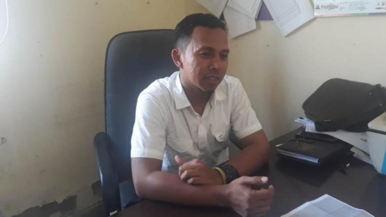 Kasie Tanaman Pangan Dinas Pertanian Kabupaten Serang Anton Eka Prasetia. (Foto: TitikNOL)