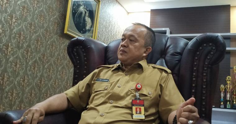 Sekertaris Dewan Deni Hermawan. (Foto: TitikNOL)