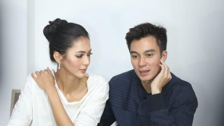 Paula Verhoeven dan Baim Wong. (Dok: Fimela)