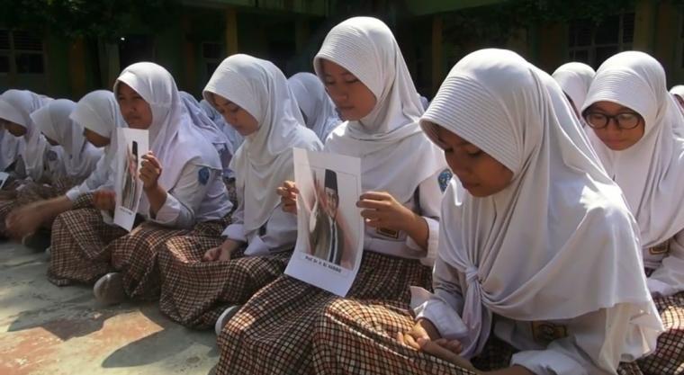 Suasana doa bersama untuk almarhum Presiden ketiga Bacharuddin Jusuf Habibie. (Foto: TitikNOL)