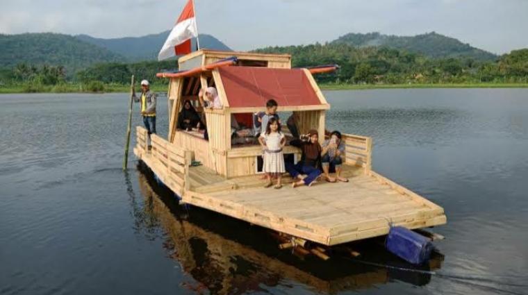 Situ Rawa Arum yang akan direvitalisasi Pemerintah Kota Cilegon. (Foto: TitikNOL)