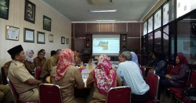 Studi Banding Provinsi Bangka Belitung ke Banten. (Foto: TitikNOL)