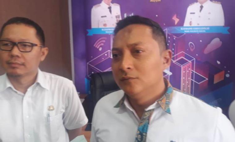 Kepala Dinas Kominfo Kota Serang, Hari. (Foto: TitikNOL)