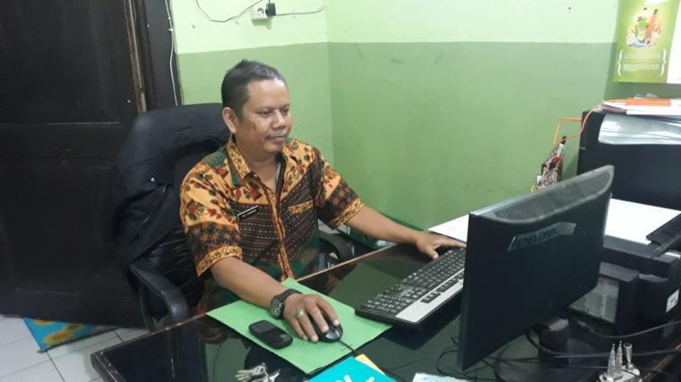 Kasie Gizi Masyarakat Dinkes Kabupaten Serang Puji Kuntarso. (Foto: TitikNOL)