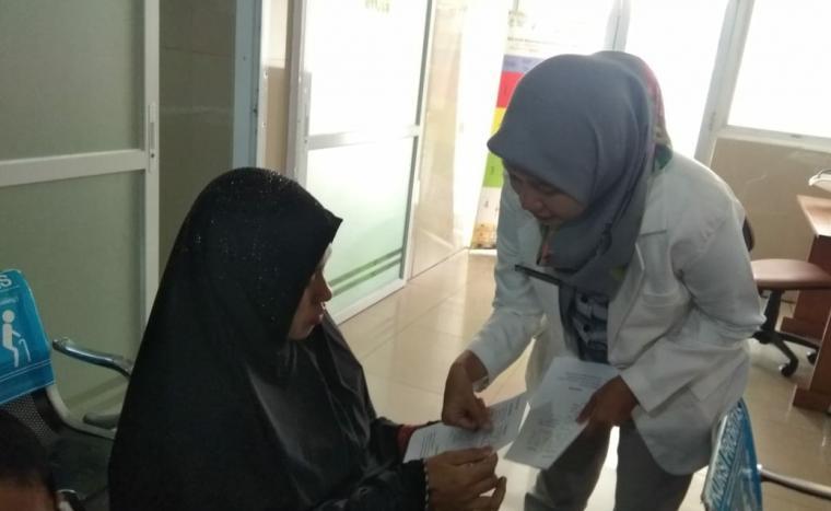 Penyuluhan kesehatan di Rumah Sakit Umum Pesanggrahan Jakarta Selatan. (Foto: Istimewa)