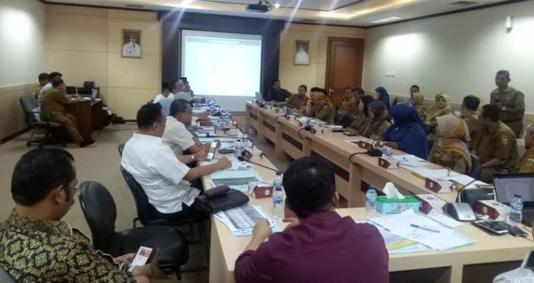 Ruang Rapat Komisi V DPRD Banten, Curug, Kota Serang. (Foto: TitikNOL)