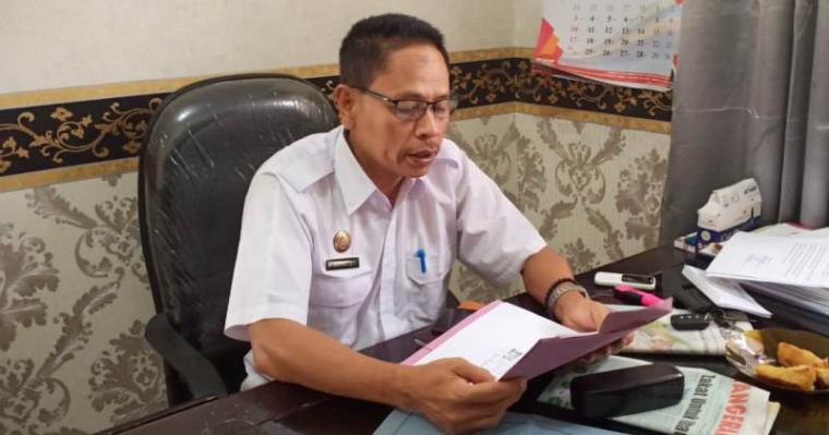 Kabid SMP Dindik Kota Serang, Sarnata. (Foto: TitikNOL)