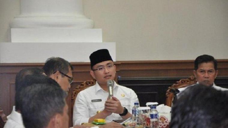 Wakil Gubernur Provinsi Banten Andika Hazrumy. (Dok: Tribunnews)