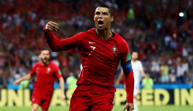 Cristiano Ronaldo. (Dok: Eveningstandard)