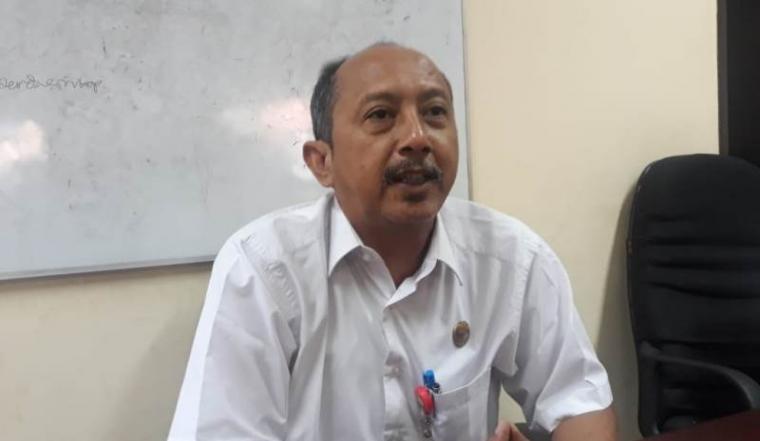 Kepala Dinas Perdagangan Industri Koperasi dan Usaha Mikro Kecil Menengah (UMKM) Kota Serang Yoyo Wicahyono. (Foto: TitikNOL)