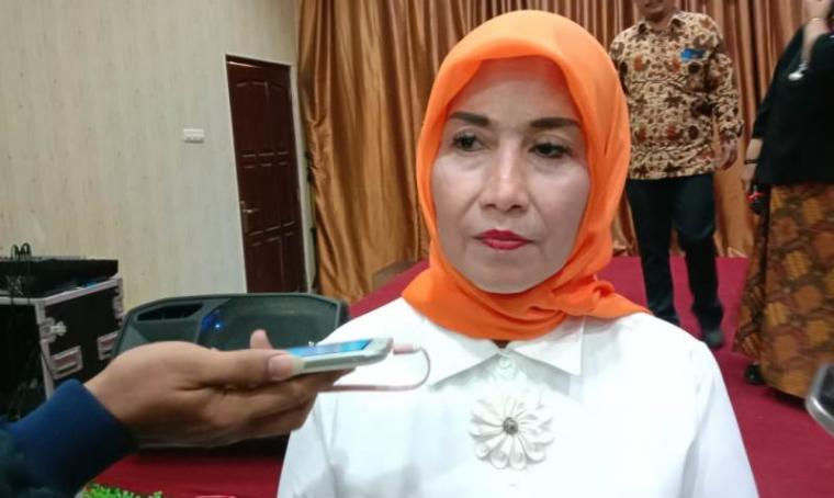 Ketua Pemberdayaan Perempuan dan Perlindungan Anak (P2TP2A ) Kota Serang Ade Jumaiyah Syafrudin. (Foto: TitikNOL)