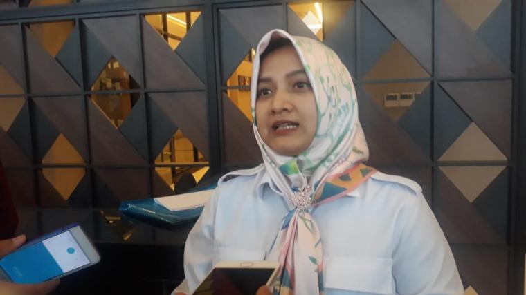 Sekretaris Desk Pilkada Banten Tati Nurcahyana. (Foto: TitikNOL)