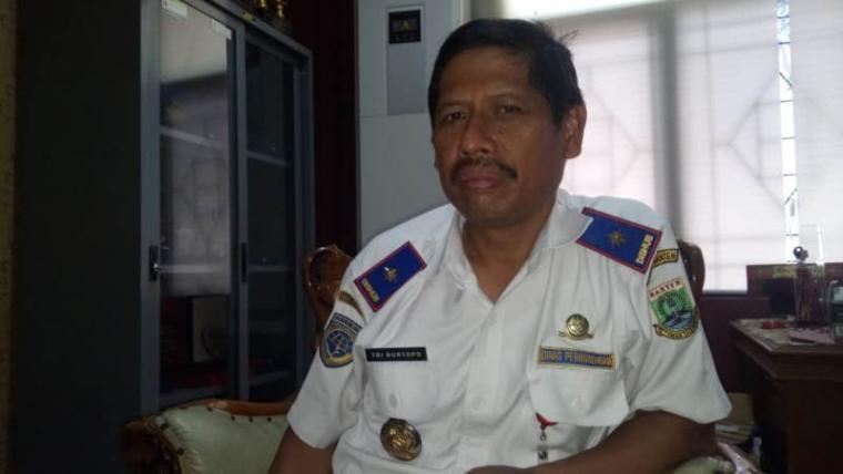 Kepala Dinas Perhubungan (Dishub) Pemerintah Provinsi (Pemprov) Banten Tri Nurtopo. (Foto: TitikNOL)