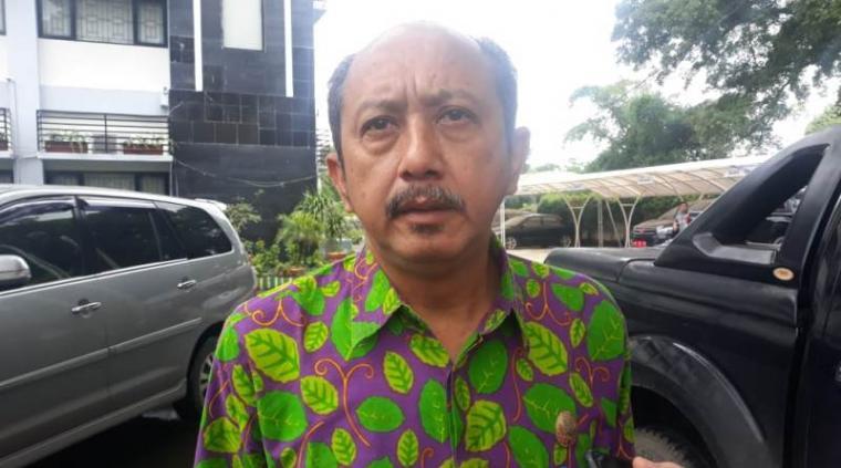 Kepala Disperindagdop Kota Serang Yoyo Wicahyono. (Foto: TitikNOL)