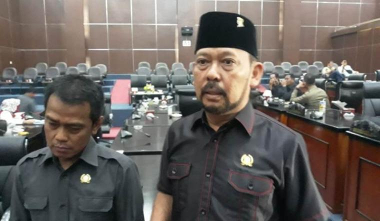 Ketua Komisi I Dewan Perwakilan Rakyat Daerah (DPRD) Kota Serang Bambang Djanoko. (Foto: TitikNOL)