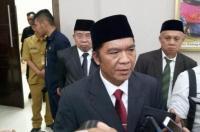 Pemusnahan barang bukti 150 paket narkotika golongan I jenis ganja di halaman Kantor BNNP Banten, Rabu (31/7/2019). (Foto: TitikNOL)