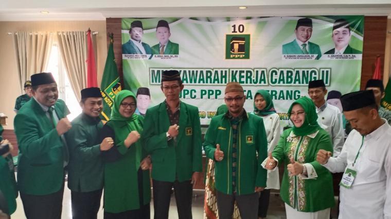 Musyawarah kerja cabang (Muskercab) PPP Kota Serang, di salah satu hotel di Kota Serang, Sabtu (8/2/2020). (Foto: TitikNOL)