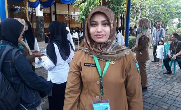 Kabid Administrasi Kepegawaian Badan Kepegawaian dan Pengembangan Sumber Daya Manusia (BKPSDM) Kabupaten Serang Mujiyati Erianis. (Foto: TitikNOL)