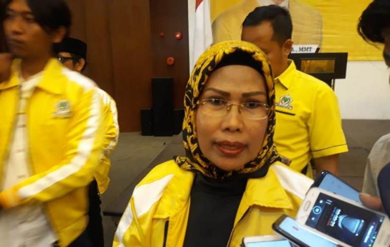 Ketua Dewan Pimpinan Daerah (DPD) partai Golkar Provinsi Banten Ratu Tatu Chasanah. (Foto: TitikNOL)