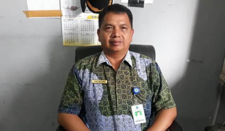 Kasi Perparkiran Dishub Kabupaten Serang Opan Baehaki. (Foto: TitikNOL)