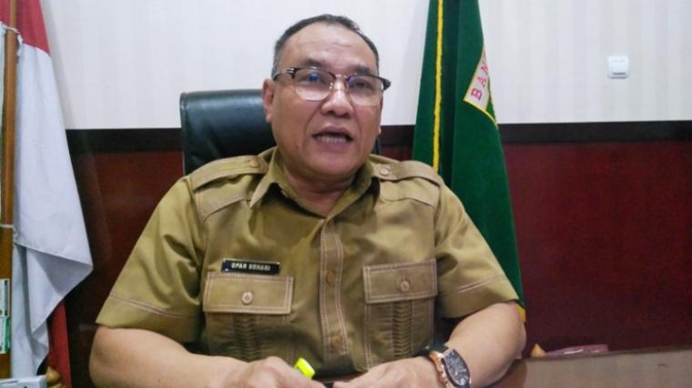 Kepala Bapenda Banten Opar Sohari. (Dok: Kabar6)