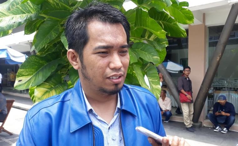 Ketua Badan Pemenangan Pemilu (Bapilu) Demokrat Banten Azwar Anas. (Foto: TitikNOL)