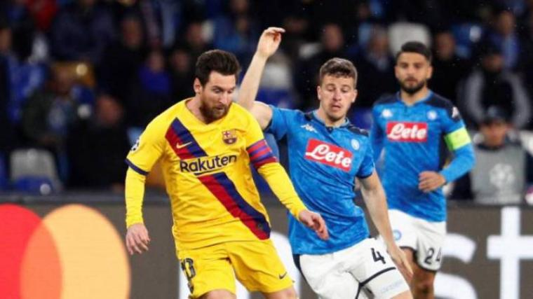 Napoli vs Barcelona. (Dok: Diario AS)