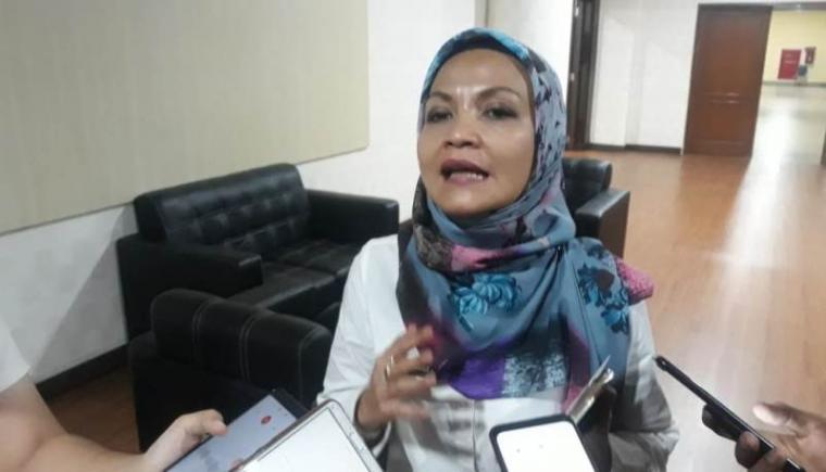 Kepala Dinas Kesehatan (Dinkes) Provinsi Banten Ati Pramudji Hastuti. (Foto: TitikNOL)