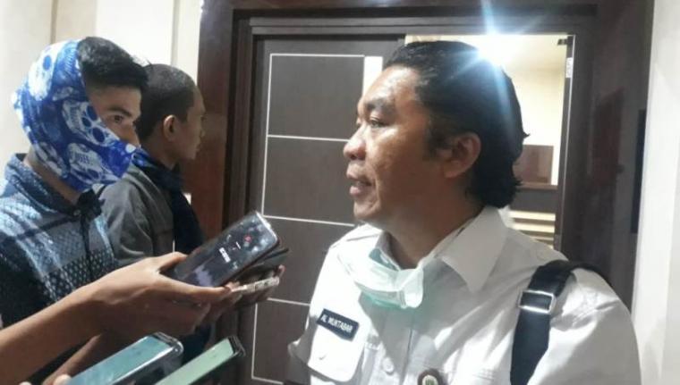 Sekretaris Daerah (Sekda) Banten Al Muktabar. (Foto: TitikNOL)