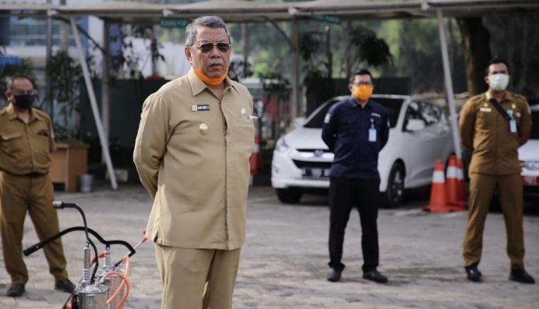 Wakil Walikota Tangerang Selatan (Tangsel), Benyamin Davnie. (Foto: TitikNOL)