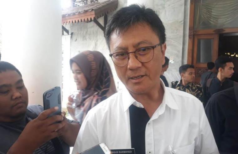 Kepada Dinkes Kabupaten Serang Agus Sukmayadi saat di wawancari sejumlah awak media. (Foto: TitikNOL)