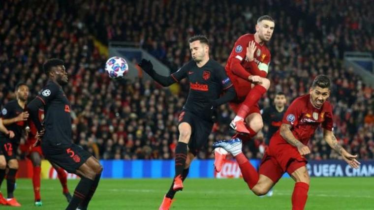 Liverpool vs Atletico Madrid. (Dok: Detik)