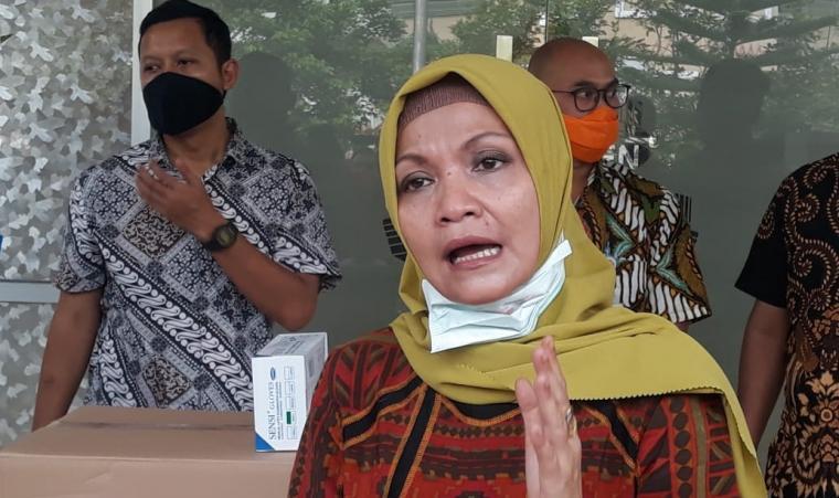 Kepala Dinkes Banten Ati Pramudji. (Foto: TitikNOL)