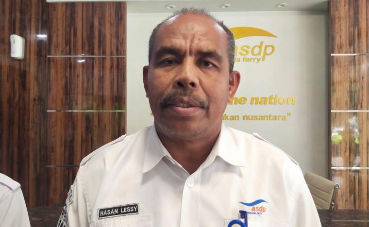 General Manager PT ASDP Cabang Merak, Hasan Lessy. (Foto: TitikNOL)