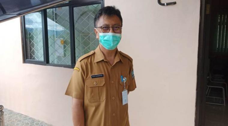 Pelaksana Tugas (Plt) Kepala Dinas Kesehatan (Dinkes) Kabupaten Serang Agus Sukmayadi. (Foto: TitikNOL)