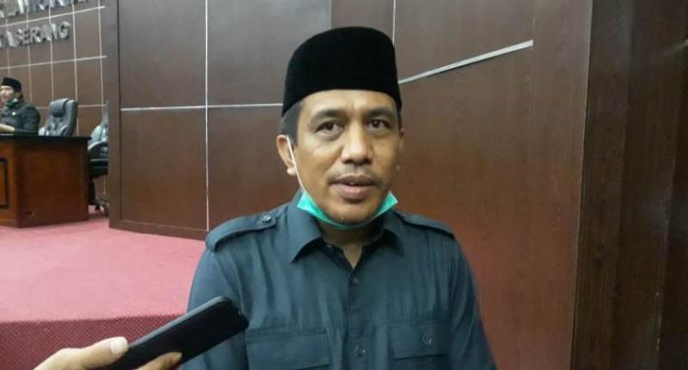 Pimpinan II Dewan Perwakilan Rakyat Daerah (DPRD) Kota Serang Roni Alfanto. (Foto: TitikNOL)